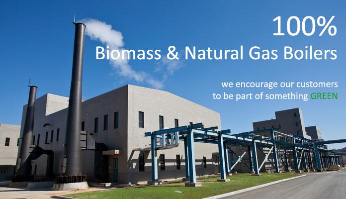 Biomass & Natural Gas Boilers